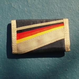 1980's vintage rainbow wallet