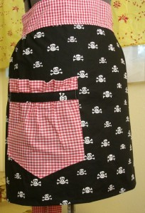 Pirate Wench Cocktail Apron