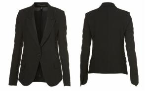 TopShop Kate Moss Grosgrain Blazer - $160