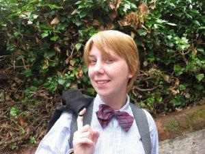 Mackenzie Stone in a bowtie