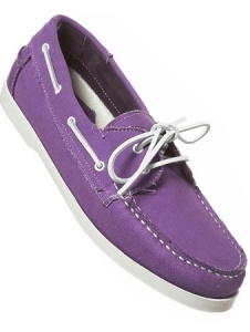 Anchor Canvas Boat Shoes $50
